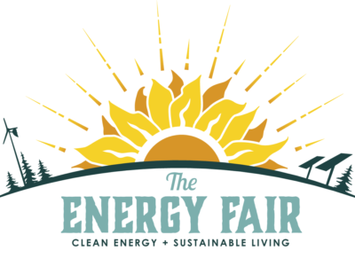 NEW Energy Fair logo by Offbeat Press!