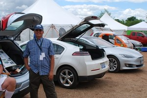 electric and alternative fuel cars showcased in clean transportation show