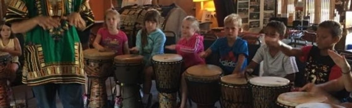 Community-Style Drum Circle