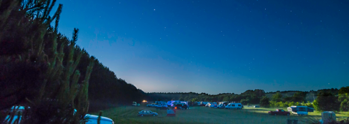 Campsites at Night