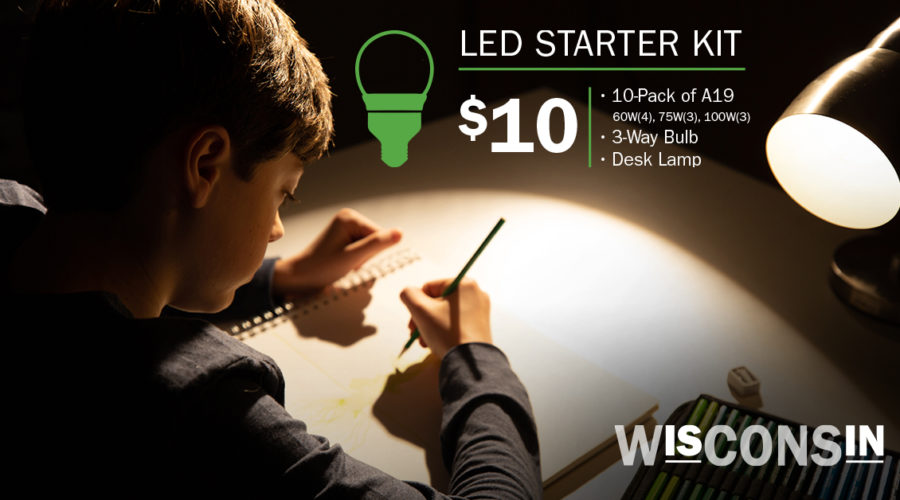 Free Lighting Starter Kits for Turning in Old, Incandescent bulbs!
