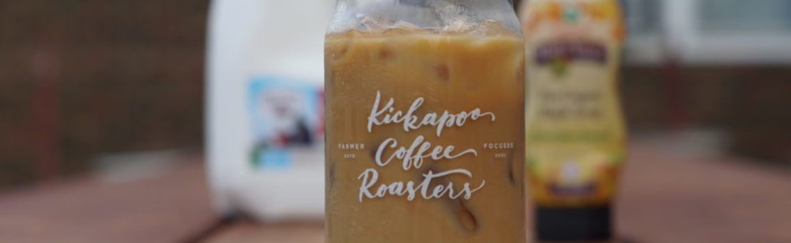 Kickapoo Coffee's Iced Maple Latte Pop-up
