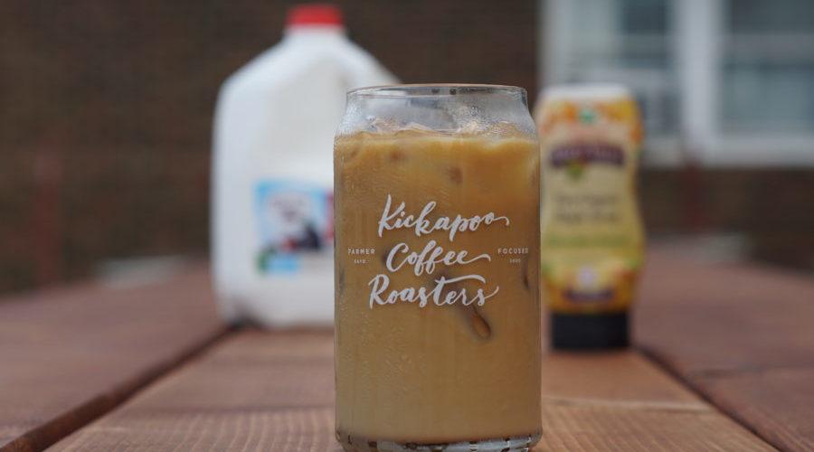 Kickapoo Coffee's Iced Maple Latte Pop-up
