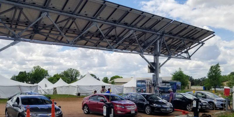 MREA Solar Carport
